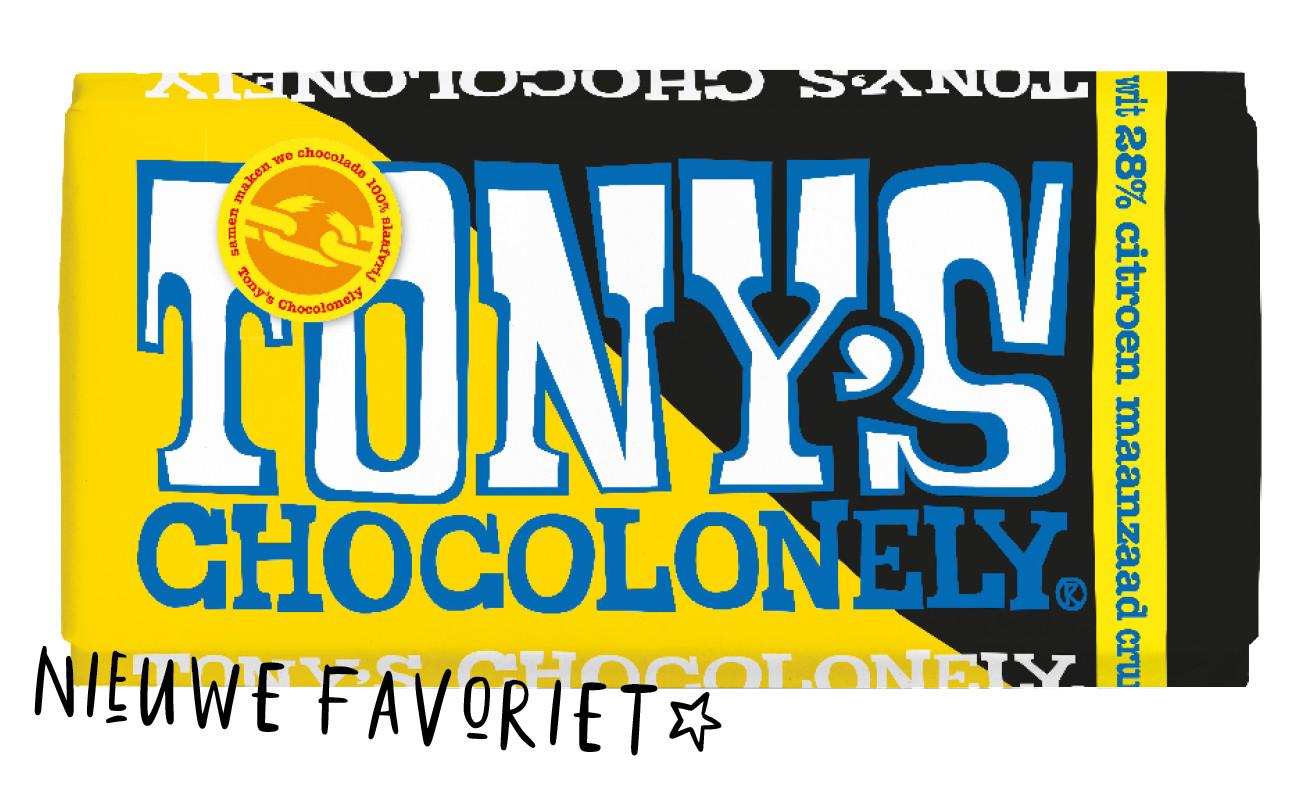 nieuwe smaak van tony's chocolonely limited edition