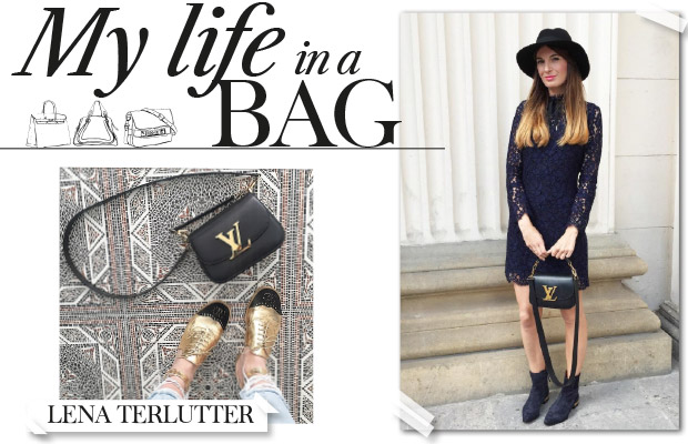 Lena Terlutter my in a bag with lena terlutter amayzine com