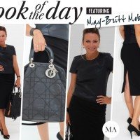 Look of the Day: May-Britt Mobach wears Maje