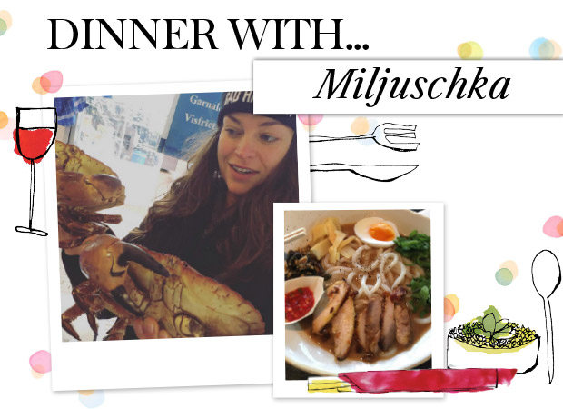 Miljusca-dinner-with