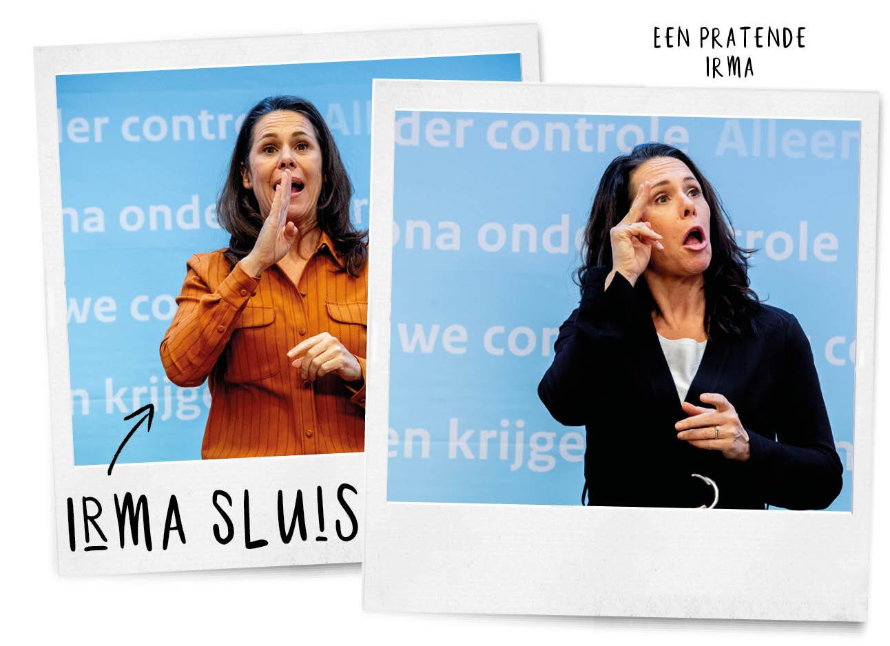 De stem van Irma Sluis