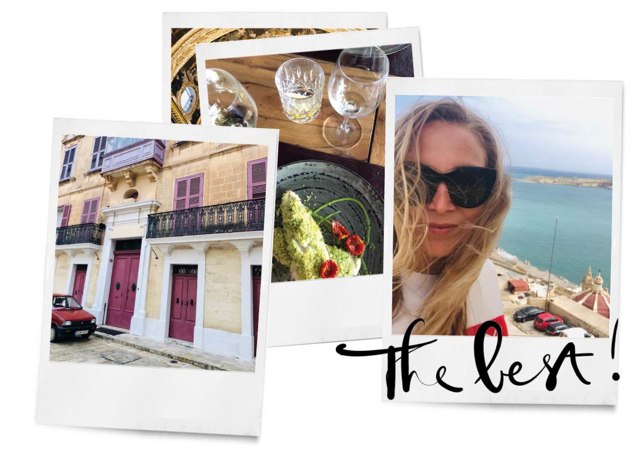 adeline in malta reizen zee zon gebouwen kunst