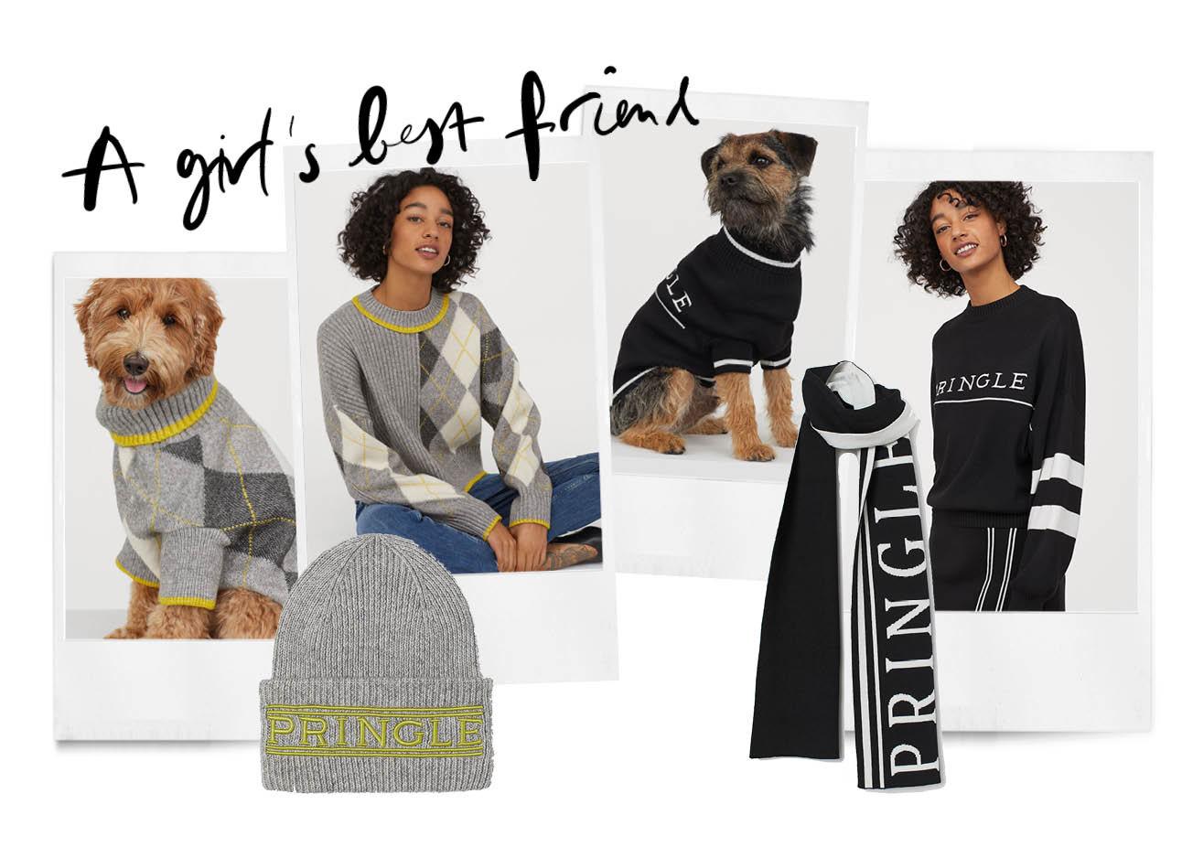 honden en vrouwen truien sjaals en mutsen H&M