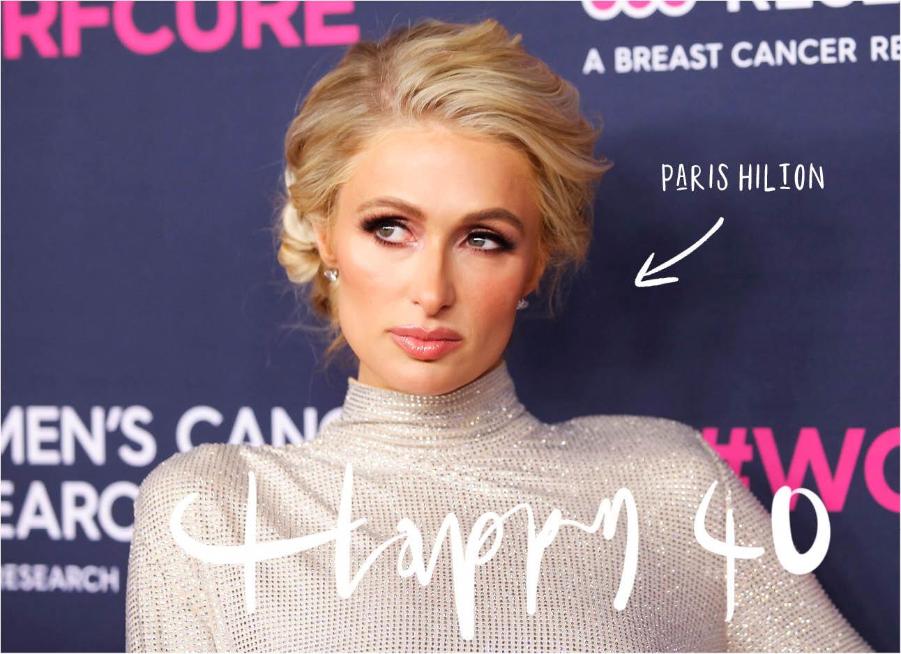 Paris Hilton is 40 jaar geworden