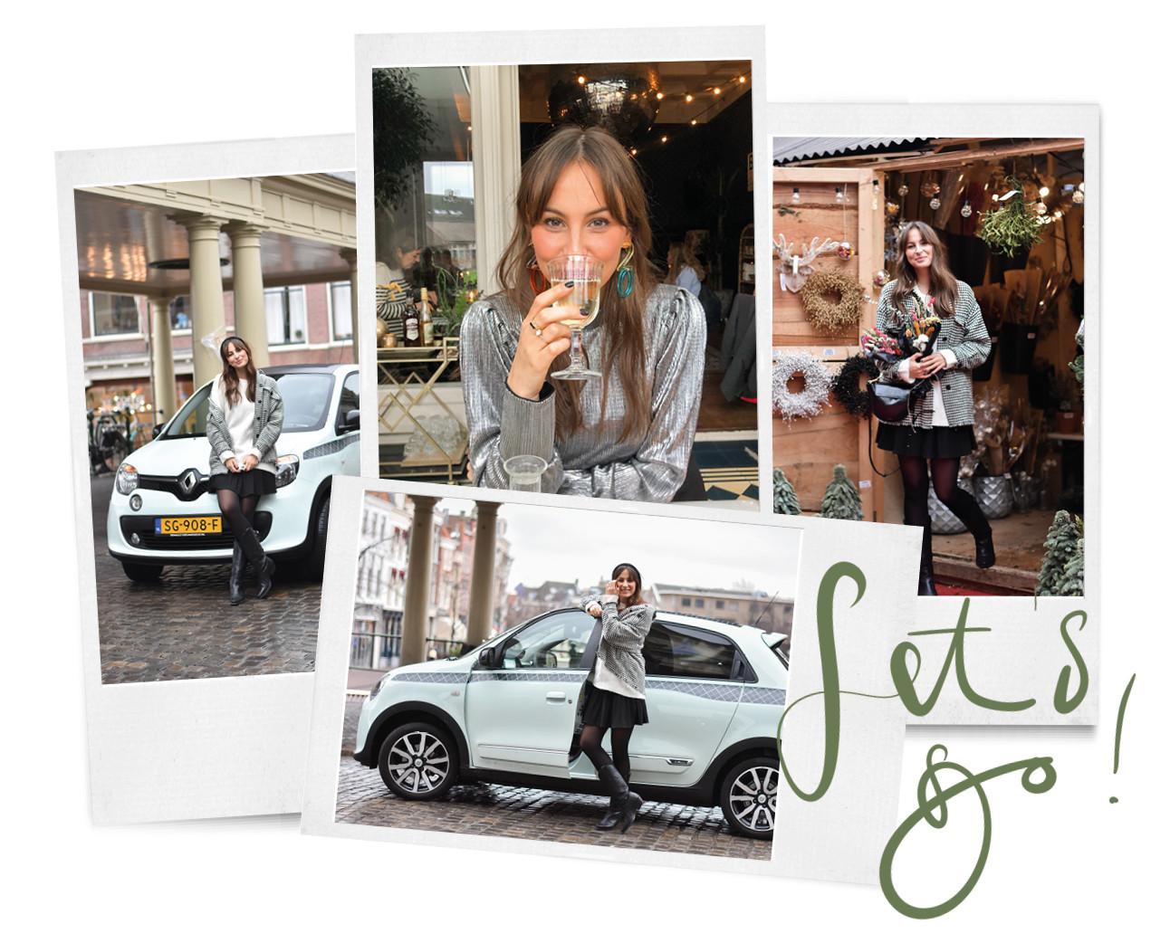 beelden uit leiden in een cafetjes en een interieuer winkel