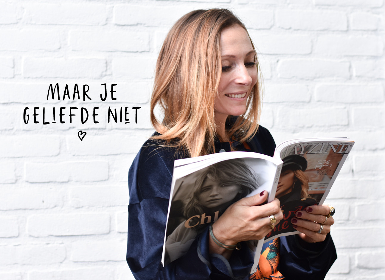 May lachend lezend Amazyine magazine