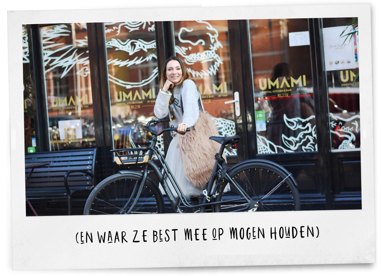 May in Amsterdam fietsen