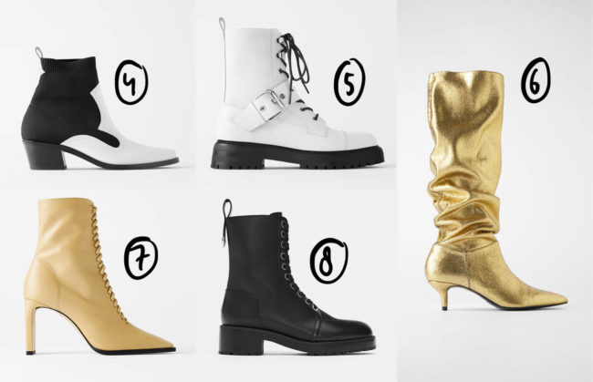 Net binnen: de coolste autumn boots van Zara :