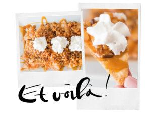 Appeltaart nacho's zijn onze nieuwe favo