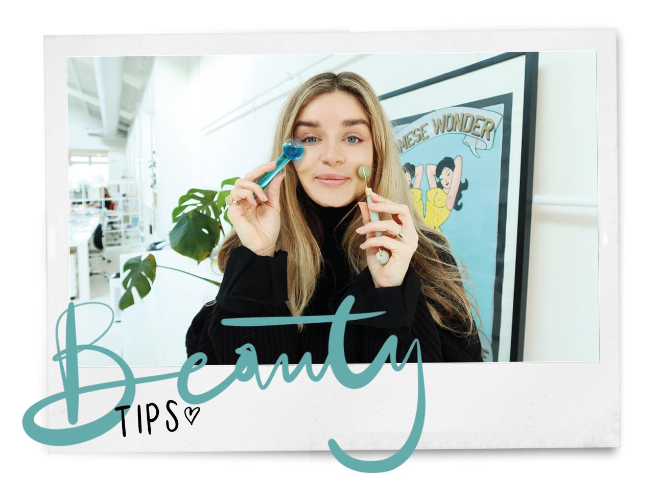 beauty tips video roller