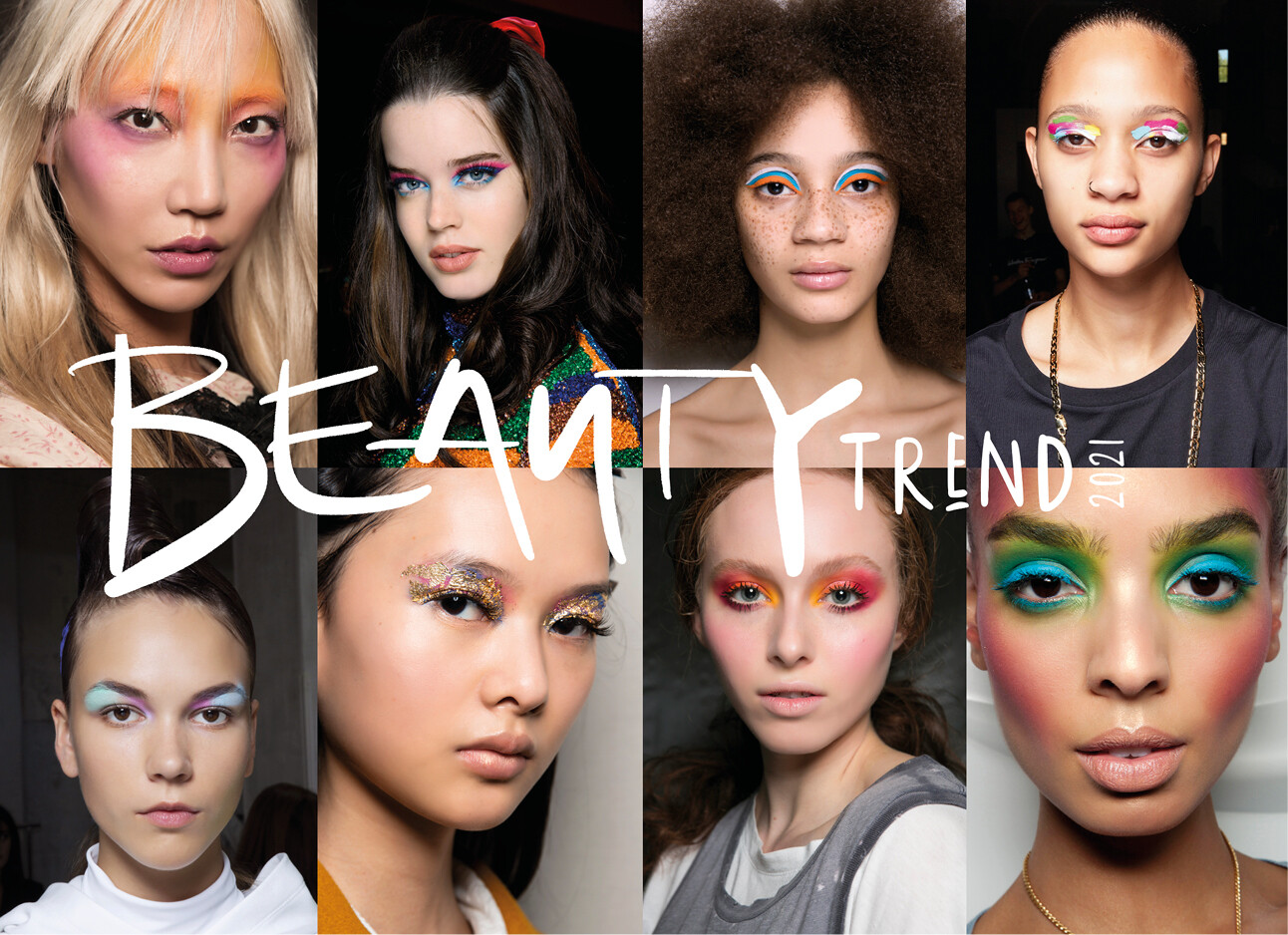 Big make-up trend 2021 backstage beauty