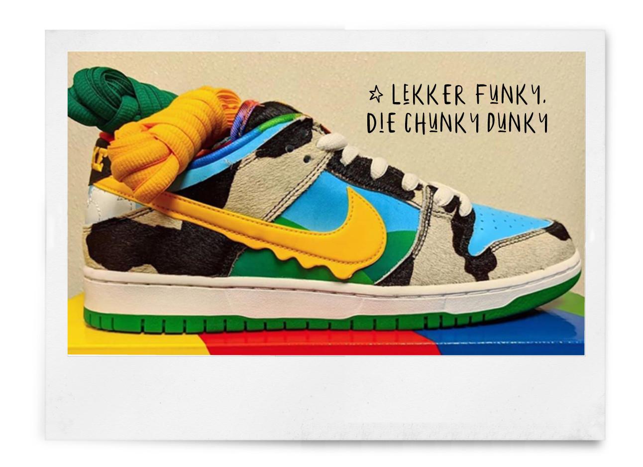 Wil je hebben: Nike komt met een Ben & Jerry's-sneaker