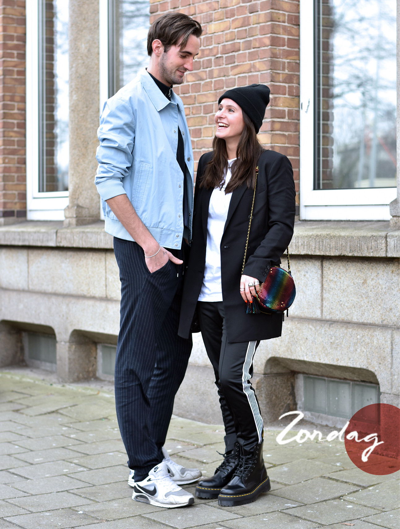 look of the day bente en luuk