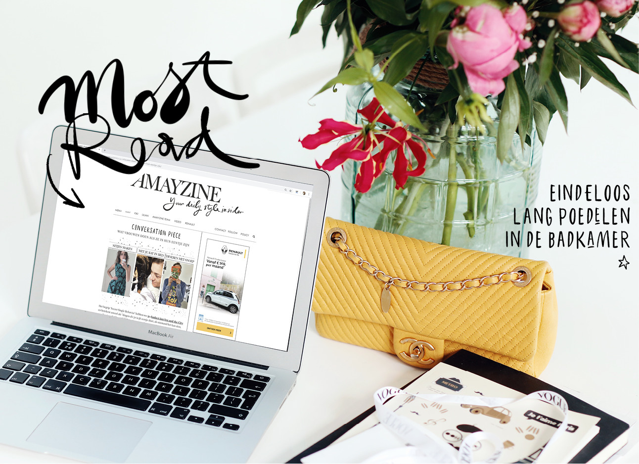 Most read laptop scherm mac en chanel tas