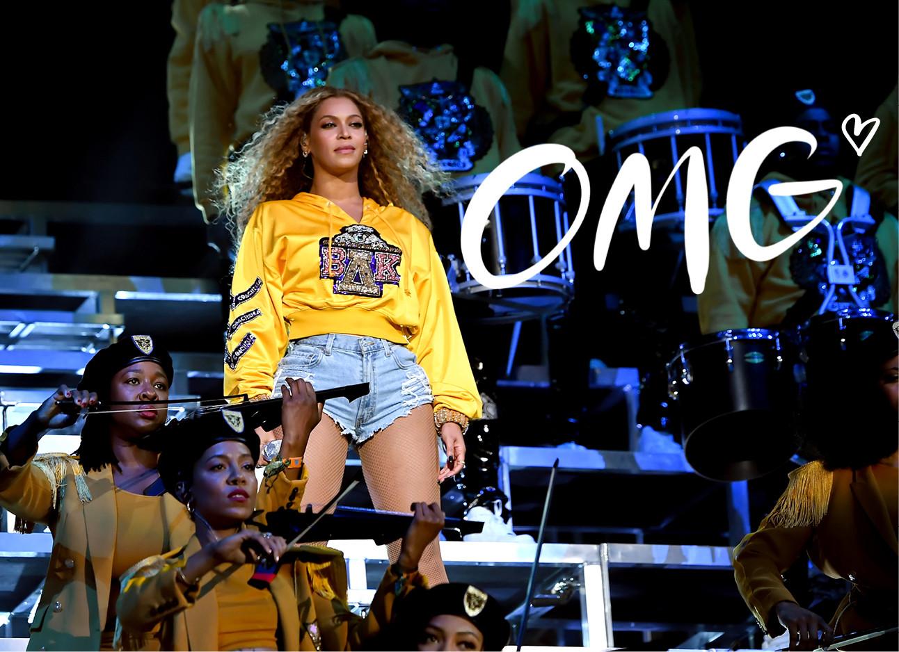 Beyonce optreden bij Coachella
