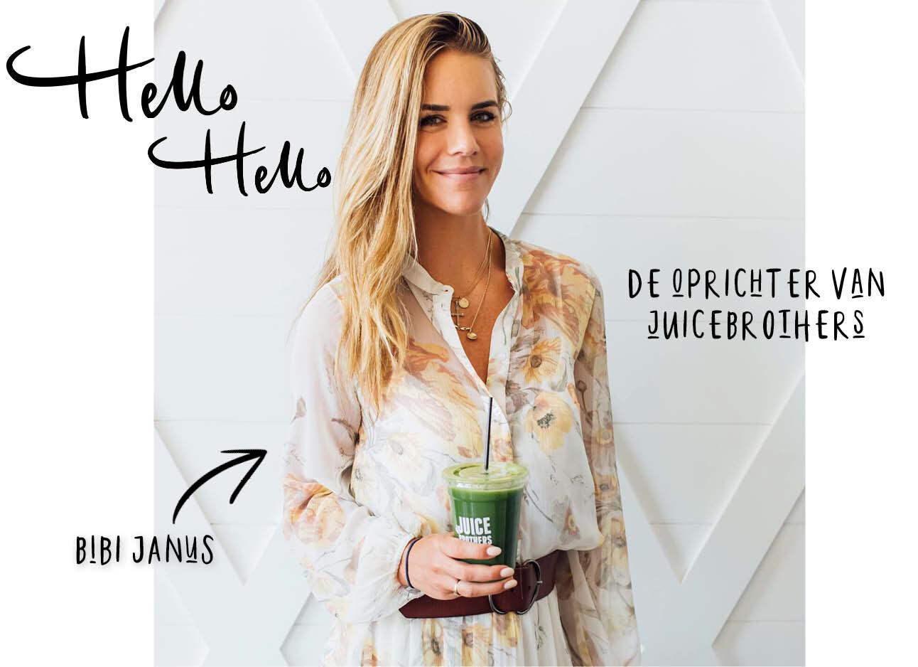 Woman behind the brand Bibi Janus