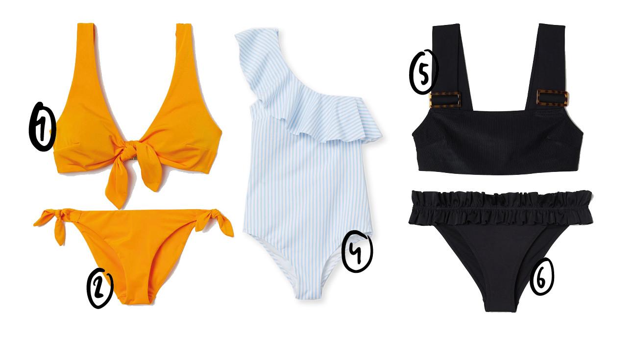 bikini en badpak H&M