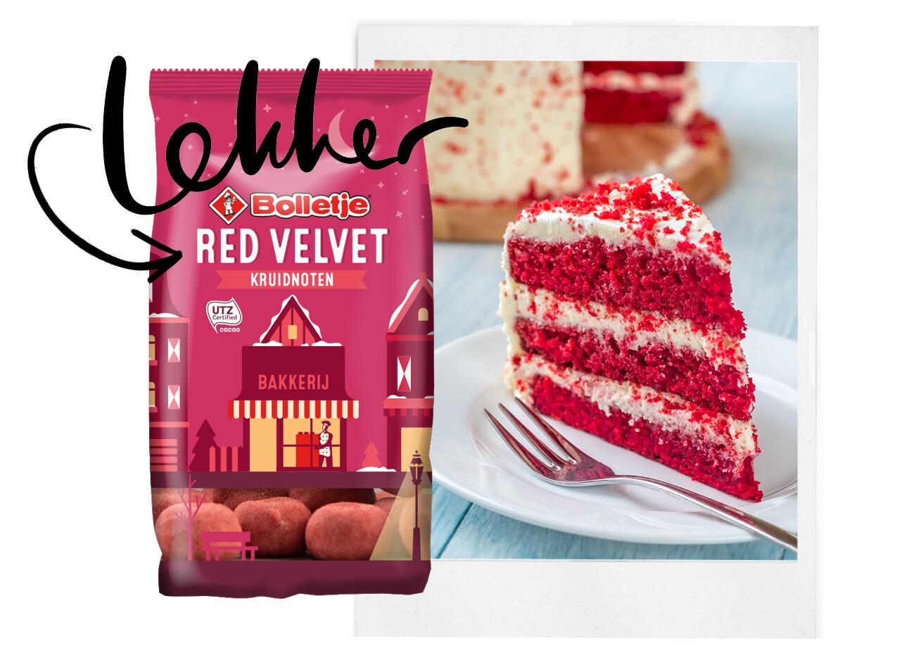 Wow: red velvet kruidnoten te koop