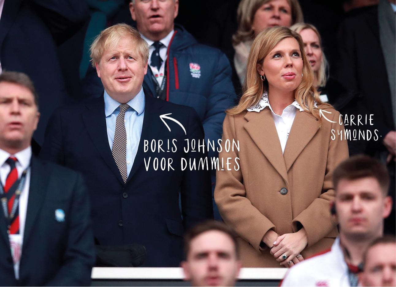Boris Johnson en Carrie Symonds
