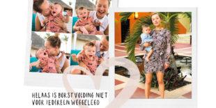 Even over borstvoeding geven…