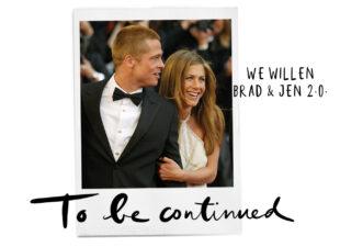 Hold up: hebben Brad Pitt en Jennifer Aniston het opníeuw gezellig samen?