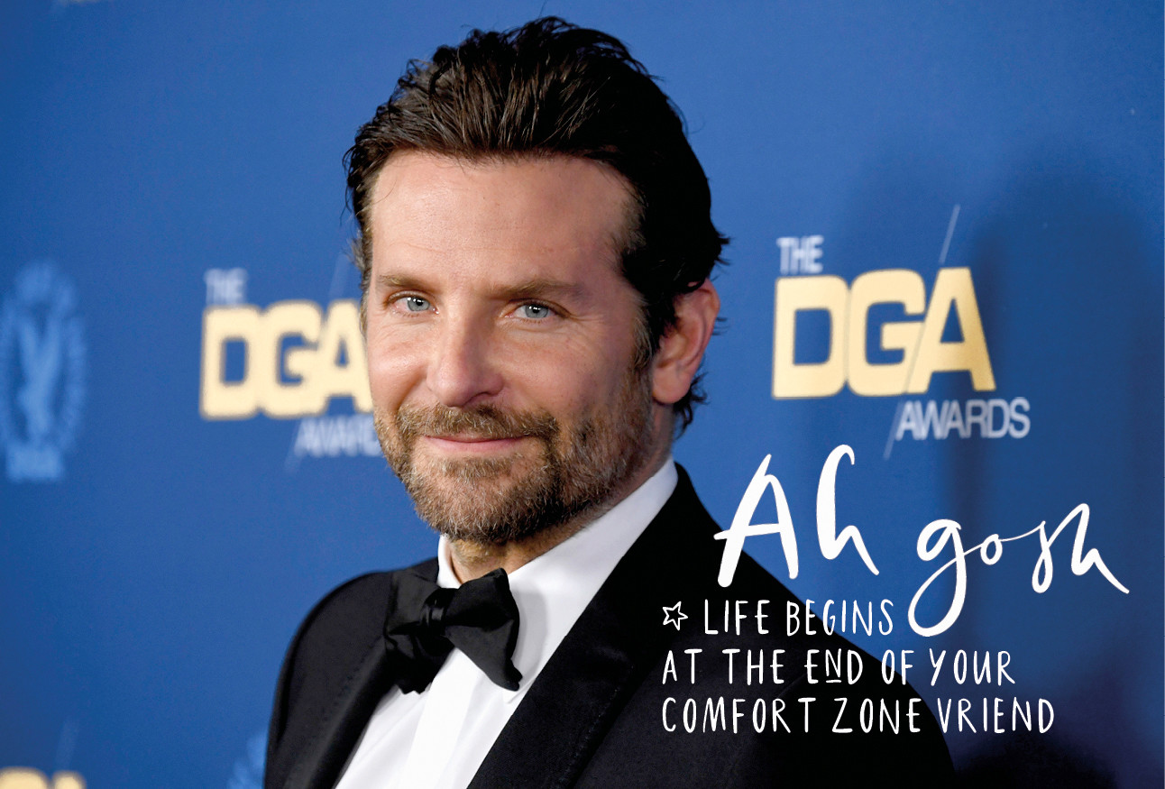 Bradley cooper portret foto bij the DGA Awards