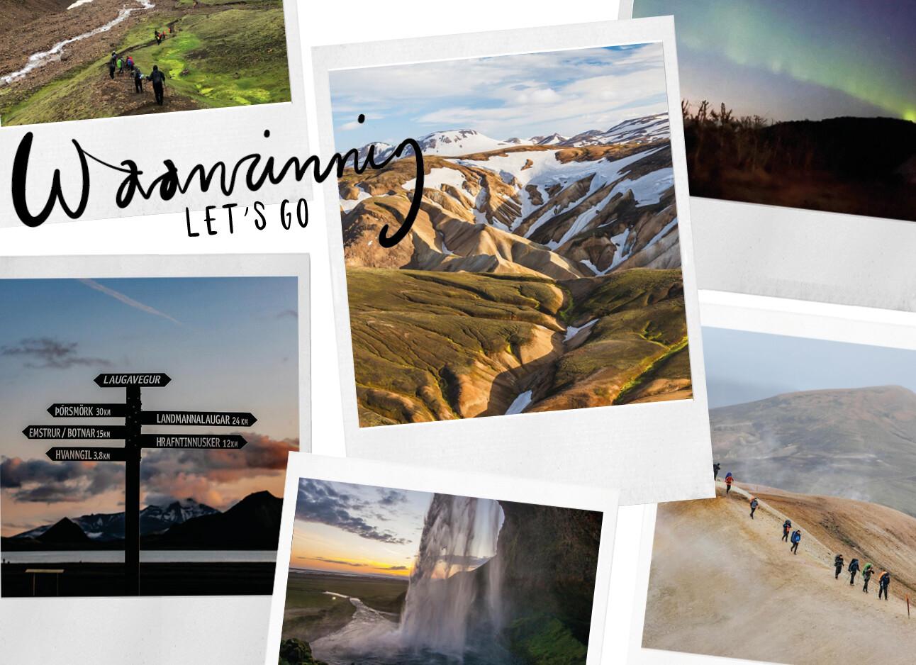 bucketlist material IJsland