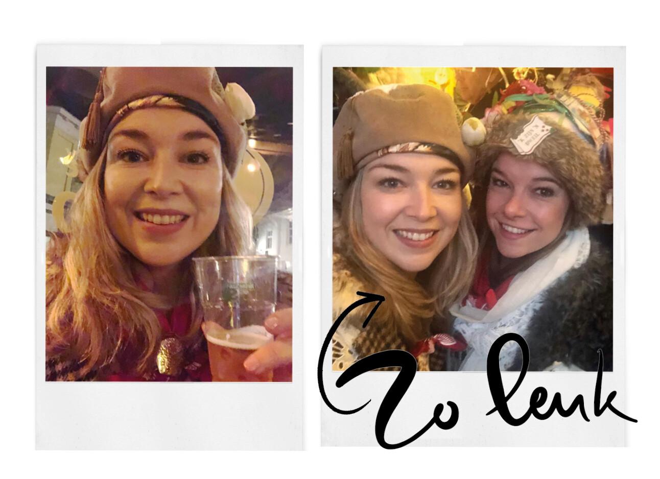 adeline viert carnaval in bergen op zoom met vrienden