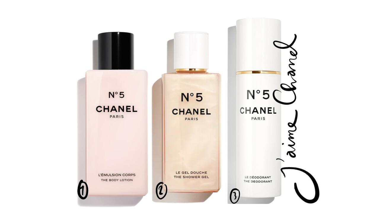 Chanel douchegel deodorantspray bodylotion