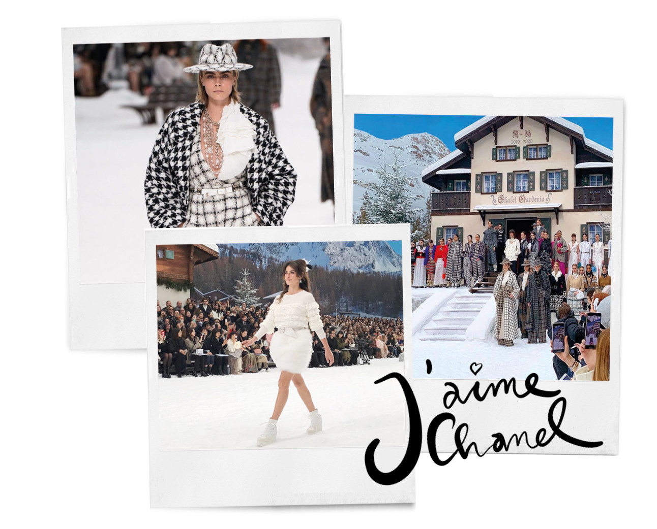 chanelshow Fall winter 2020 wintersport