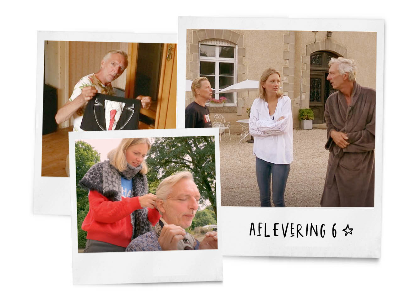 chateau meiland aflevering 6 familie meiland buiten op straat facelift