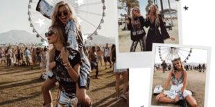 De eerste festival looks live from Coachella