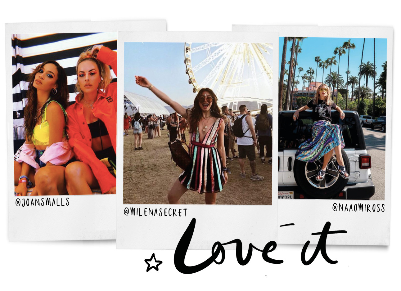 polaroids coachella outfits love it