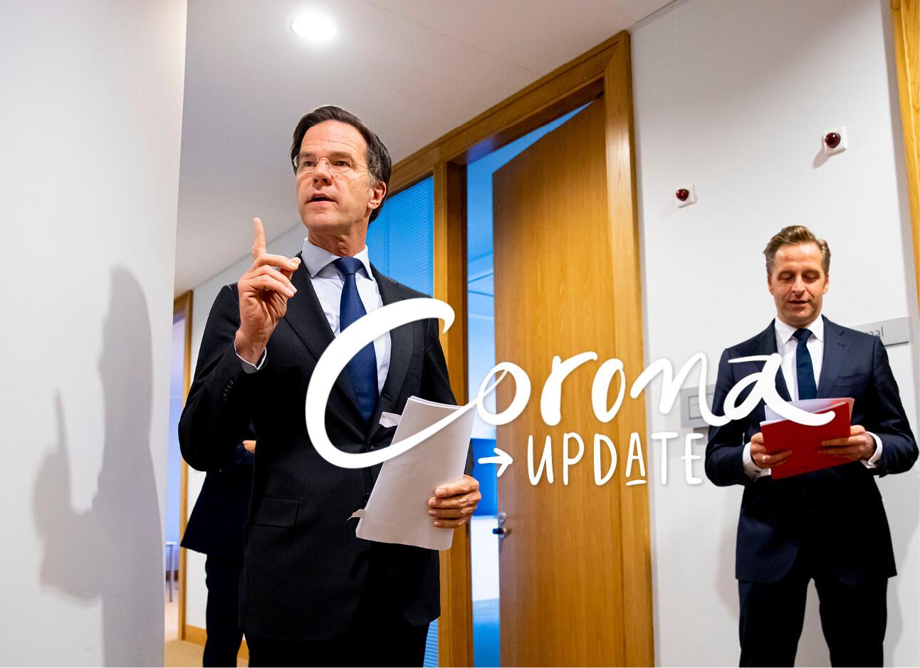 Een corona-update in minder dan 1 minuut