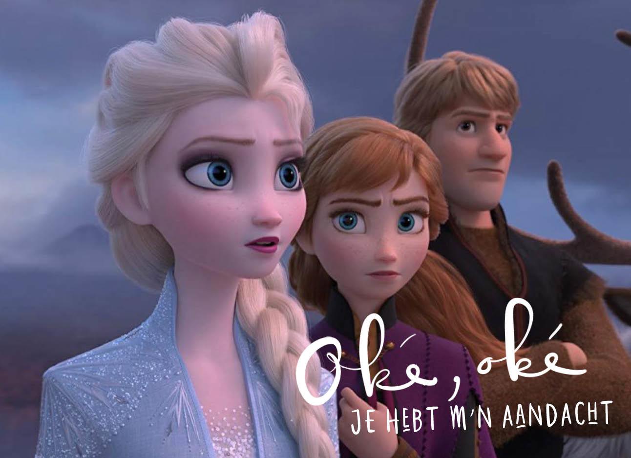 Nieuwe trailer van frozen, elsa, anna