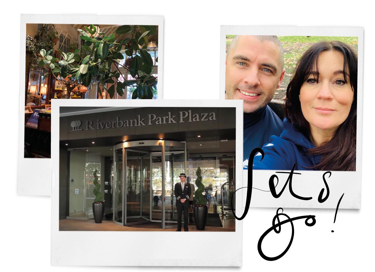 danielle en haar man samen in london