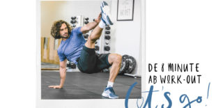 De 8 minute ab work-out