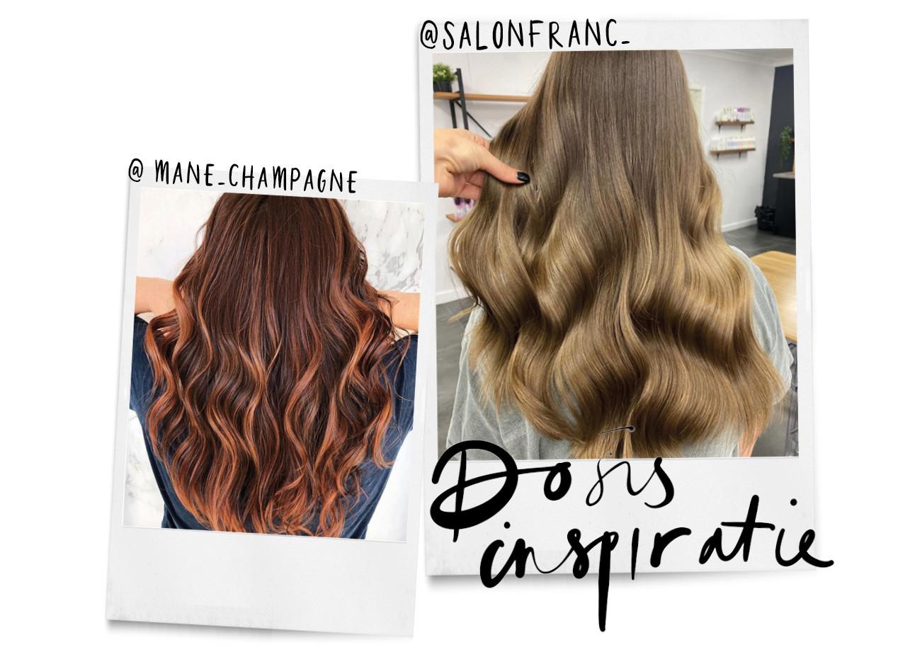verschillende kleuren haar