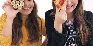 Lifegoals: pizza en sushi aan de gate op Schiphol