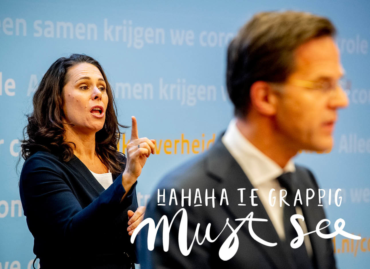 Video Irma Sluis en Mark Rutte