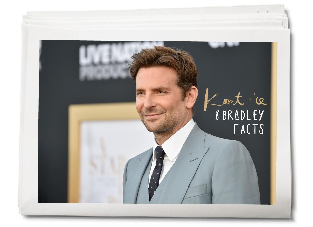 Bradley Cooper in pak bij de voor premiere van a star is born