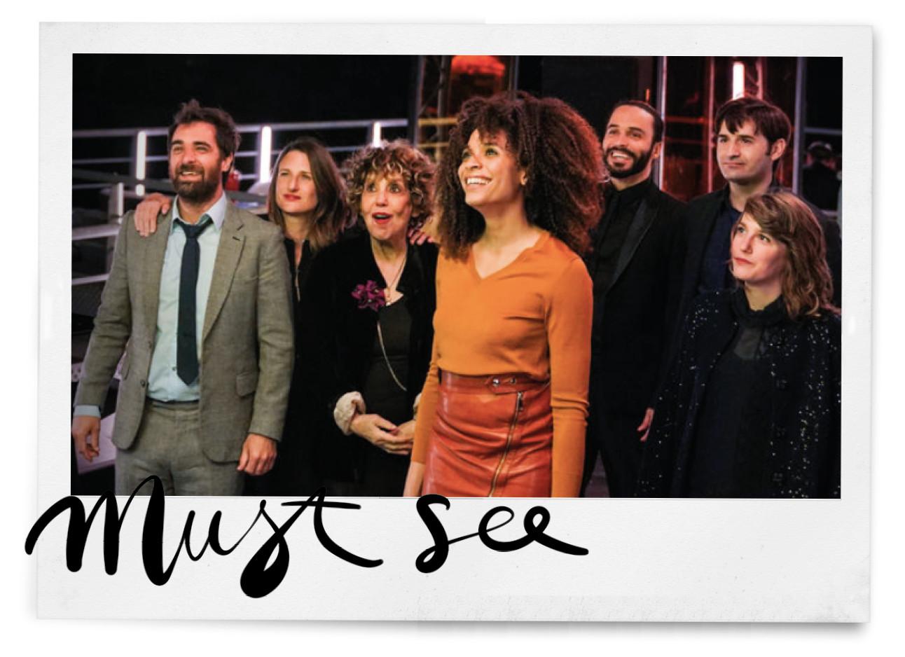 De cast van de nieuwe netflix-serie Dix pour Cent