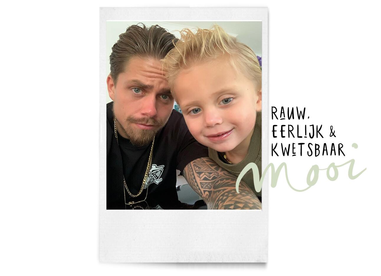Andre Hazes met zijn zoontje