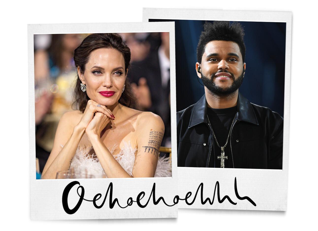 The Weeknd & Angelina Jolie daten