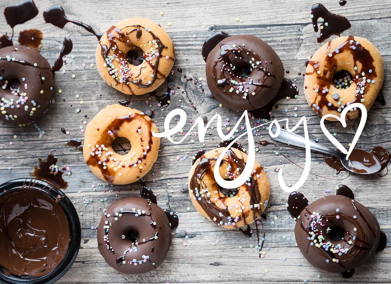 donuts met verschillende smaakjes