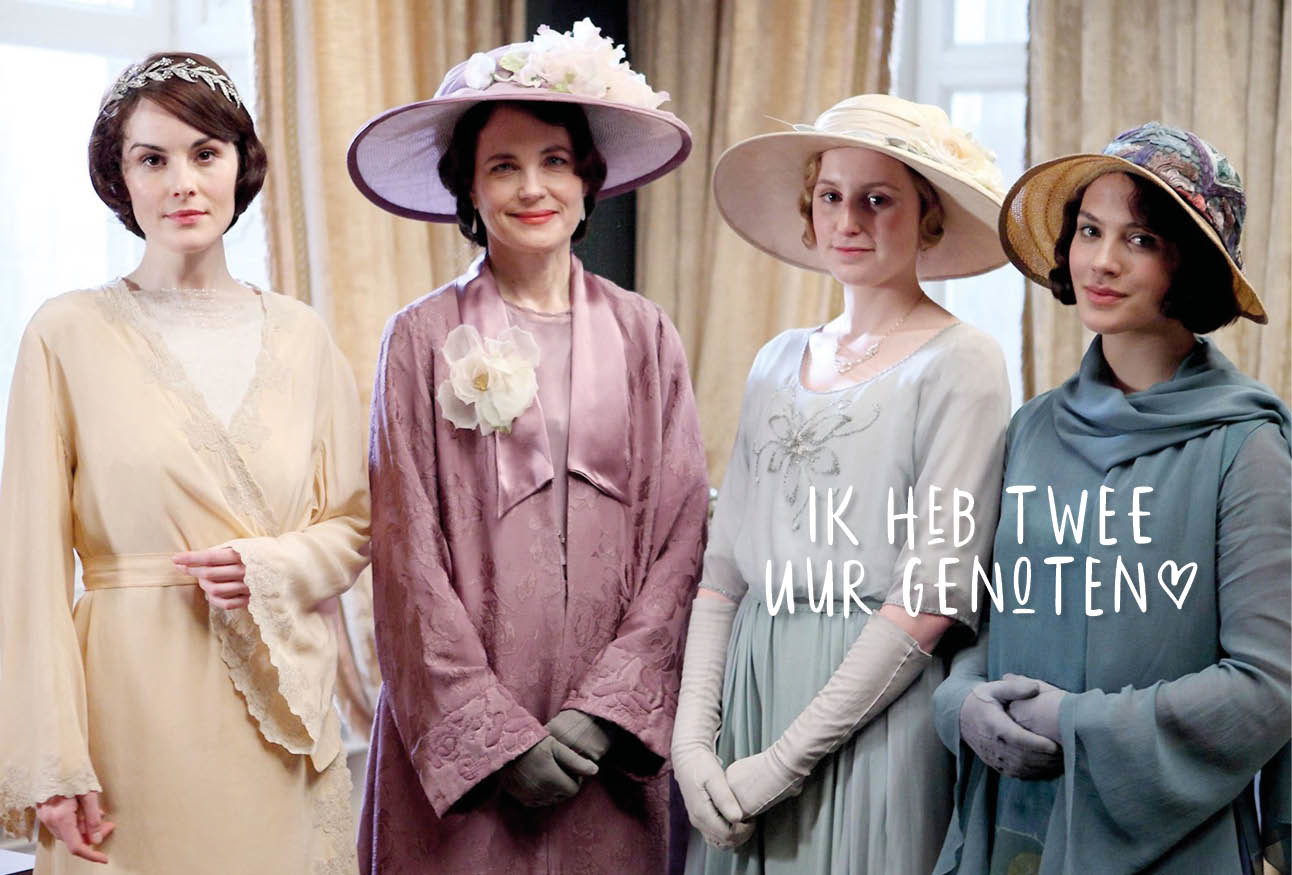Wat May echt vond van Downton Abbey de film