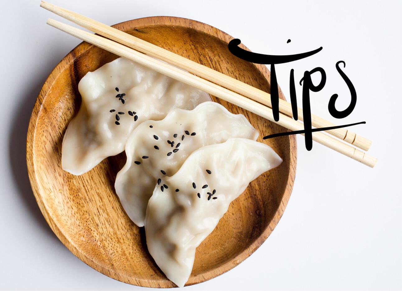 Hack: dumplings stomen zonder mand