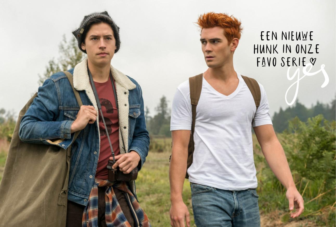 Riverdale hunks Archie en jughead