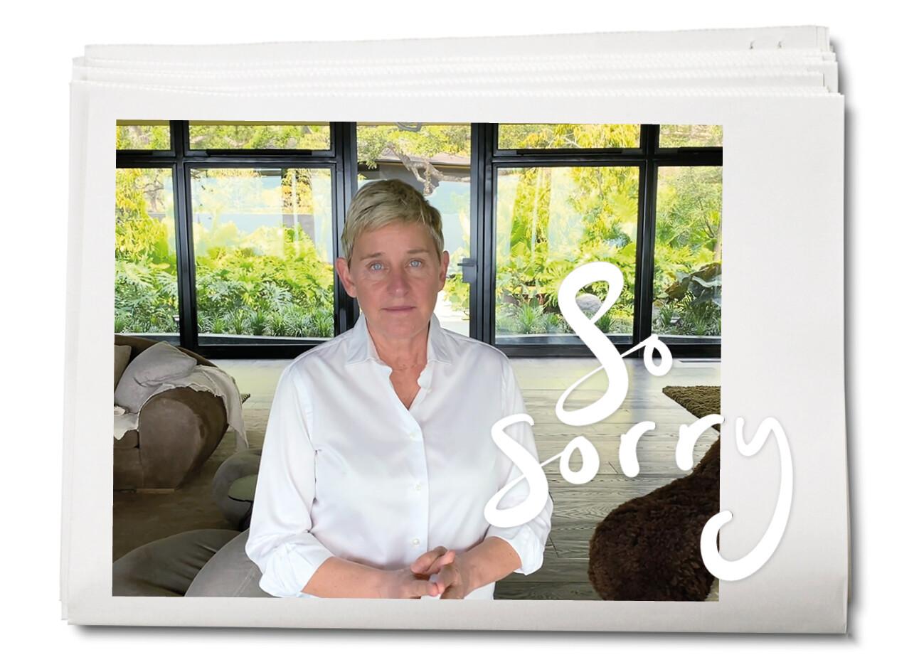 Ellen DeGeneres spreekt zich voor het eerst uit