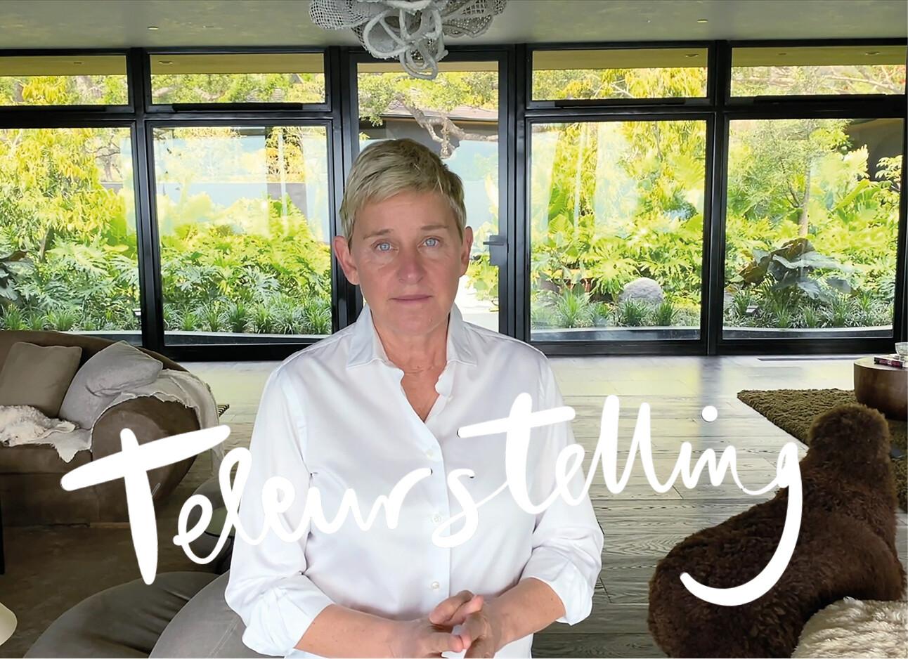 Niemand wil meer naar Ellen DeGeneres